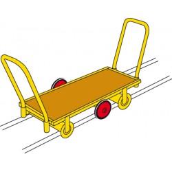 Landau sur rails 51 x 120